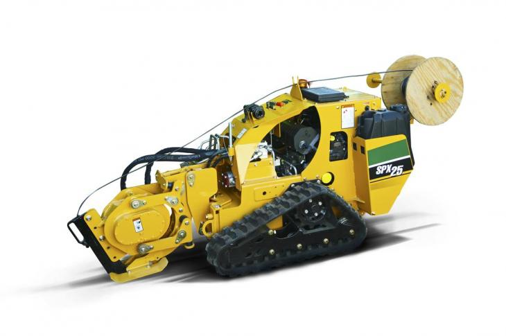 The SPX25 vibratory plow is designed for cable/fiber and irrigation system installation.