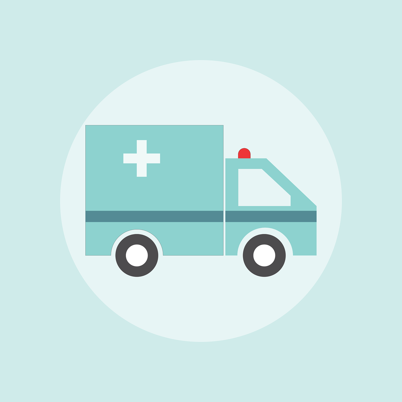 Ambulance graphic.